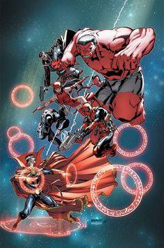 Thunderbolts vs Doctor Strangeby Carlo Barberi