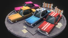 Stylized Toon Cars by umer.memon