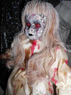 """Bethany"" Zombie Horror Doll by MistressRae13 on Etsy, $32.00"