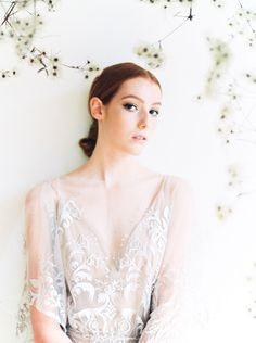 The Elle Gown, a gorgeous sheath lace wedding with flutter sleeves for the romantic bride.The lace details of gown, the organic backdrop from the soft yet strong look from and created for Scanned by Perfect Wedding Dress, Boho Wedding Dress, Wedding Gowns, Lace Wedding, Wedding Dress Shopping, Boho Bride, Lace Detail, Fit And Flare, Strong