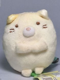 San-X Sumikko Gurashi Neko (Cat) Tenori Small Plush Doll Kawaii Toy Japan