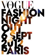Watch: Vogue Paris Fashion Night Out LIVE on September 6th at 7pm CET.