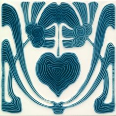 Art Deco Tile, Golem Kunst und Baukeramik