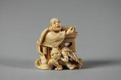 Netsuke, ivory, 19th century
