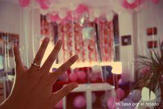 Mi casa por el tejado: Pedida de mano - con globos- en mi salón #pedida #matrimonio #globos #compromiso #globos #ballons #married
