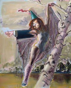 Lovers dance II, oil on canvas, 150x130 cm, 2017