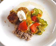 Die fabelhafte Welt der Franca Tütü:  eat  Falafel.Gemüse