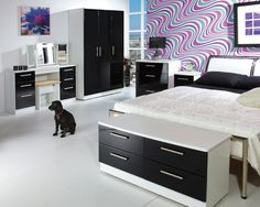 Find This Pin And More On House Black And White Bedroom Furniture