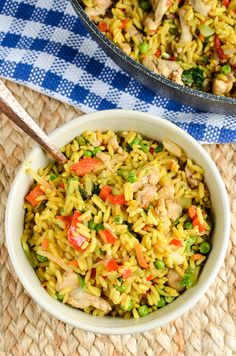 Slimming Eats Low Syn Coconut Chicken Curry Rice - gluten free, dairy free, vegetarian, Slimming World, and Weight Watchers friendly