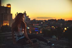 on the roof - null