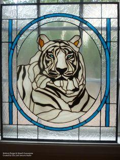 SALE White Tiger Panel  200 OFF by TheLastUnicornStudio on Etsy, $600.00
