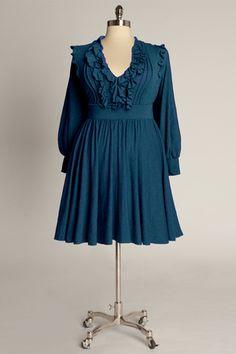 Verona Dress in Teal