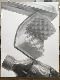 Drawing Sketches, Art Drawings, Realistic Pencil Drawings, Still Life Drawing, Drawing Exercises, Anatomy Drawing, Ap Art, Technical Drawing, Pictures To Draw