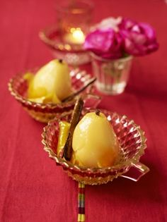 Citrus-poached pears | Jamie Oliver