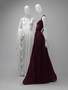 Dress Designer: Madame Grès (Alix Barton)  (French, Paris 1903–1993 Var region) Date: 1969 Culture: French Medium: silk Dimensions: Length at CB: 62 1/2 in. (158.8 cm) Credit Line: Gift of Thomas L. Kempner, 2006