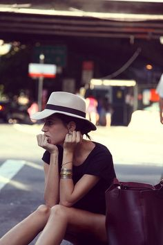 > Love hats.. and classy style.  CLICK THE PIC and Learn how you can EARN MONEY while still having fun on Pinterest