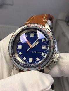 Seiko SKX007 'Soxa' custom.Carribean blue dial.Double domed sapphire. | eBay