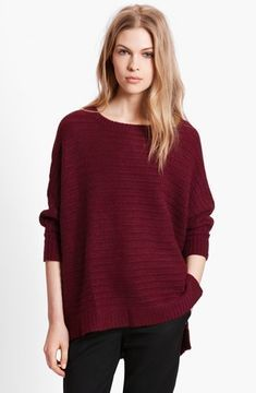 Dolman Sleeve Cashmere Sweater