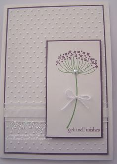 "Stamp Set - Serene Silhouettes ""Get Well Wishes"" Stampin Up!®"
