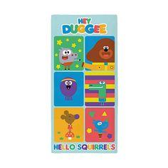 Hey Duggee Squirrels Towel Home George Towels Kids Beach Towel Kids Swimming
