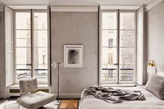 Simply French minimalism… The Paris apartment of interior designerJoseph Dirand. via tmagazine