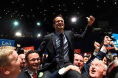 Irlanda, lista para un primer ministro gay. Leo Varadkar gana las elecciones a líder del partido mayoritario y, en cuanto el Parlamento lo apruebe, se convertirá en jefe de Gobierno. Pablo Guimón | El País, 2017-06-02 http://internacional.elpais.com/internacional/2017/06/02/actualidad/1496427929_903126.html