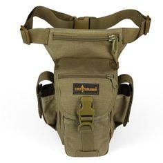 Llévalo por solo $117,100.SOLDADO GRATIS 4L múltiples funciones táctico de la pierna cintura del paquete.