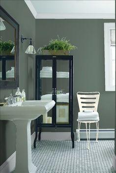 Stone Harbor Gray By Benjamin Moore Dining Room