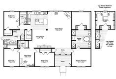 Perfect Manufactured Home of 2,520 Sq. Ft w/ Amazing Interior! (HQ Plans & Pictures) | Metal Building Homes