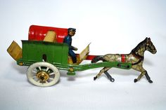 Penny Toy Carriage with Driver