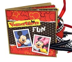 Disney Paper Bag Album