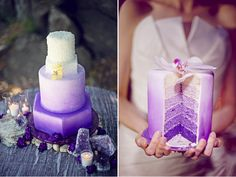 don't touch my cake | Sweet Tooth: Lilac Ombre Cake