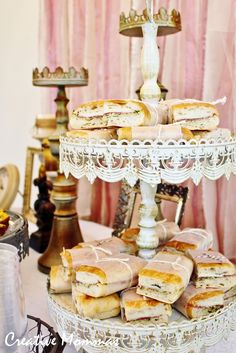 Creative Mommas: Vintage Shabby Chic Baby Shower