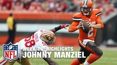 #NFL Johnny Manziel Highlights (Week 14) | 49ers vs. Browns | NFL