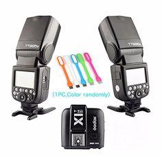 2X Godox Thinklite TT685S TTL High Speed 1/8000s GN60 Cam... https://www.amazon.com/dp/B01G6RTOF2/ref=cm_sw_r_pi_dp_x_rvqUybRSMBGNP