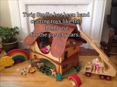 Hand Crafted Doll Houses from Twig Studio Kids | Indiegogo