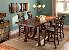Ashby 6Pcdining Set  Dining Sets  Raymour And Flanigan Best Raymour And Flanigan Dining Room Set Review