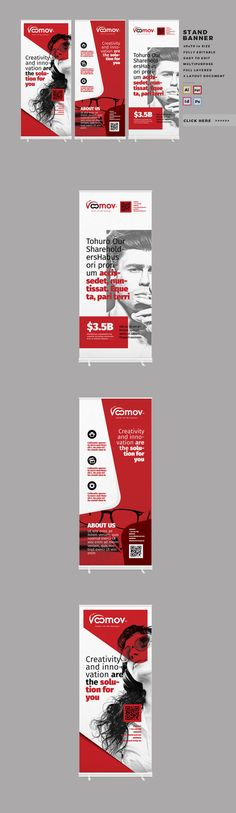 Corporate Roll-up or Banner by @Graphicsauthor