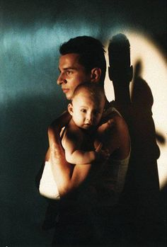 Depeche Mode - Dave Gahan with his son Jack.