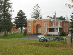 Cemetary gatehouse Gettysburg Ghosts, Gettysburg Pennsylvania, Gettysburg Battlefield, Ghost Hunting, American Civil War, Cemetery, Evergreen, Soldiers, Mansions