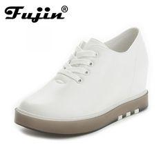 88cc1b6dd Lady Shoes with increased platform sole SPRING autumn female fashion casual  SLIP ON