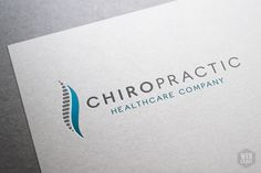 Chiropractic Logo Template on Behance