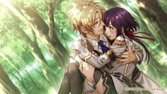 Apollon's route in Kamigami no Asobi the otome game.