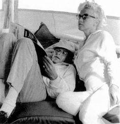 Marilyn & Franck Sinatra 1961