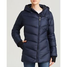 Marmot Jacket - Carina Asymmetric Zip & Oversized Hooded