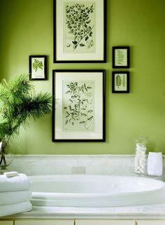 13 meilleures images du tableau salle de bain verte | Salle ...