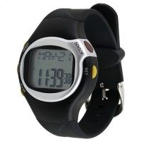 One-Touch Heart Rate Monitor w/ Calorie Counter Health Exercise Watch for $6.98