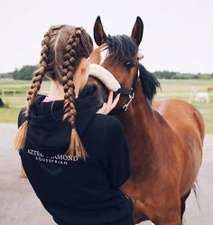 """Bruno and I are spending some quality time getting to know each other. He… - #horse"