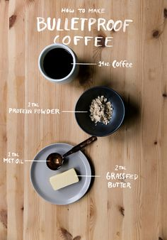 How to make Bulletproof Coffee from The Fresh Exchange