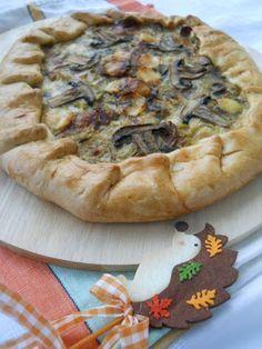 Pe masa din bucatarie: Tarta rustica cu ciuperci Pizza, Cooking Recipes, Desserts, Food, Pie, Tailgate Desserts, Deserts, Chef Recipes, Essen